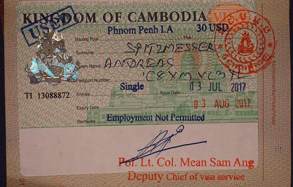 Visa Mehrzahl