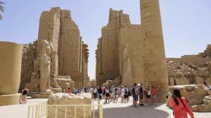 Karnal Tempel Luxor