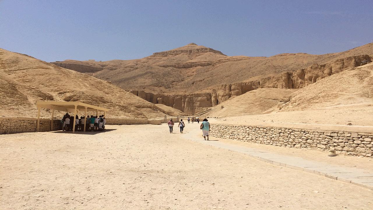 Tal der Könige in Luxor