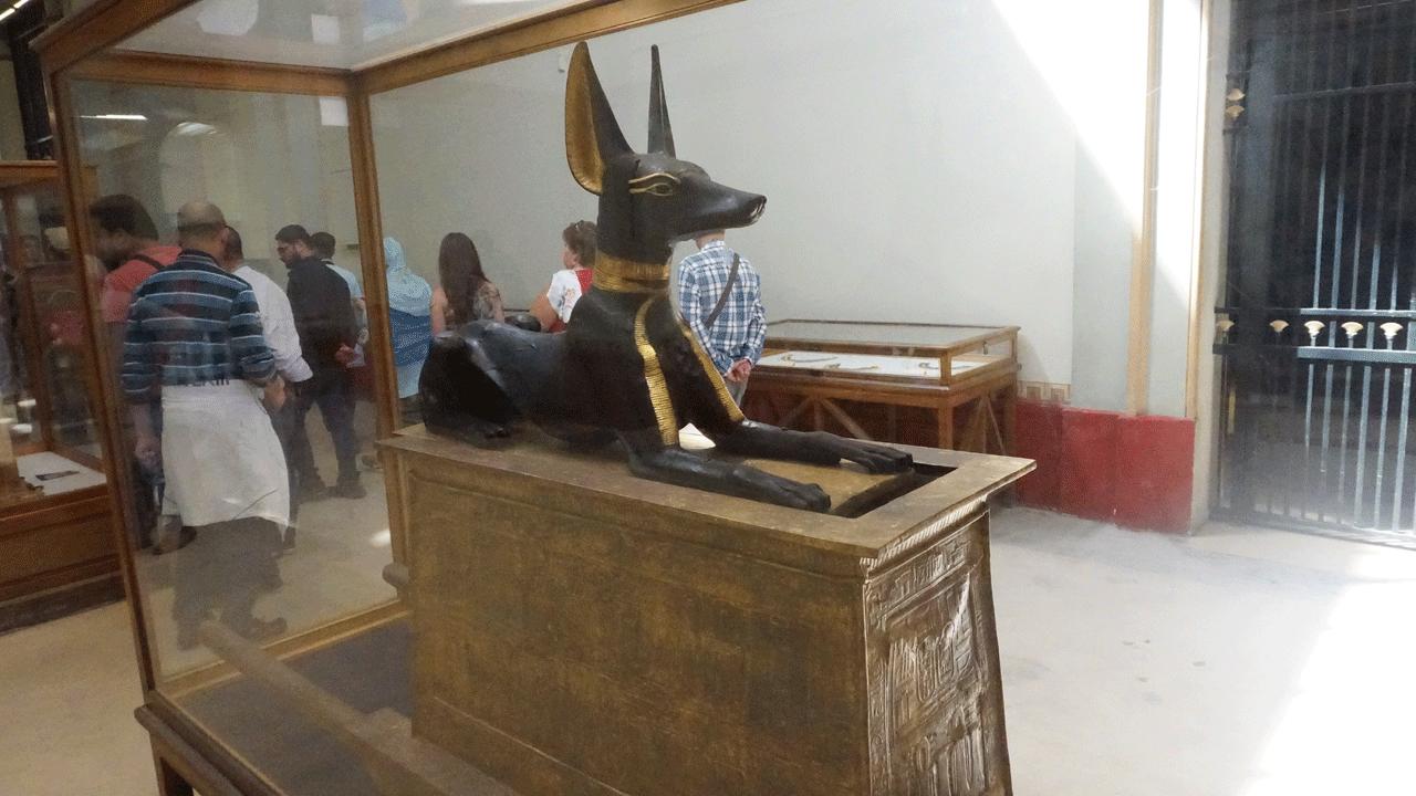 Statue ägyptisches Museum