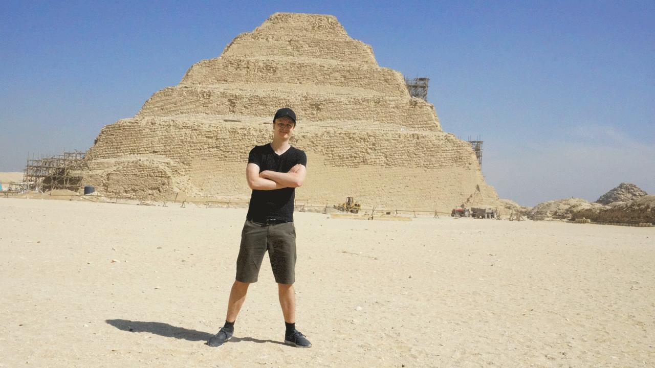 Pyramdie Sakkara Kairo