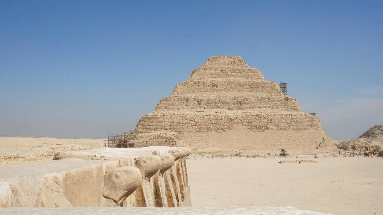 Sakkara Pyramide in Ägypten