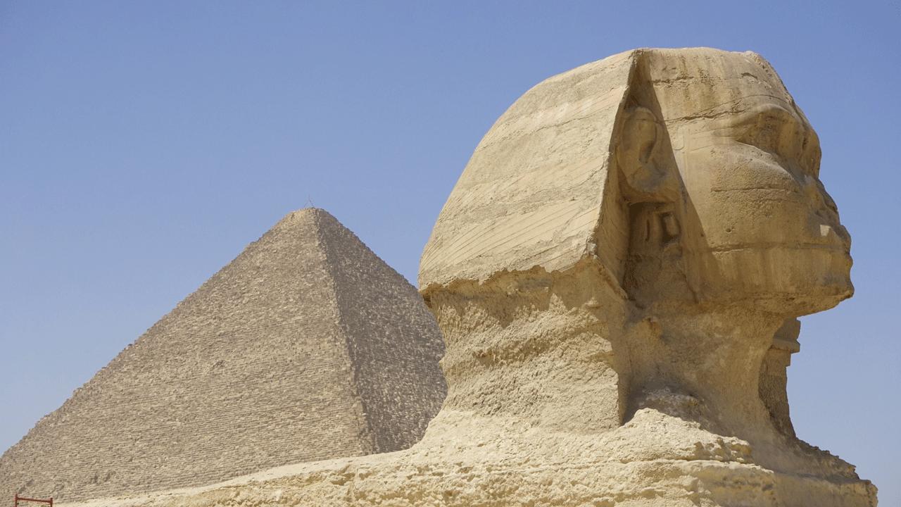 Gizeh Pyramiden Kairo