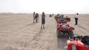 Quad fahren in Hurghda, Ägypten